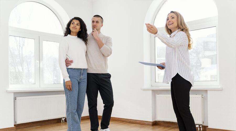 Visite d'un premier achat immobilier conseils
